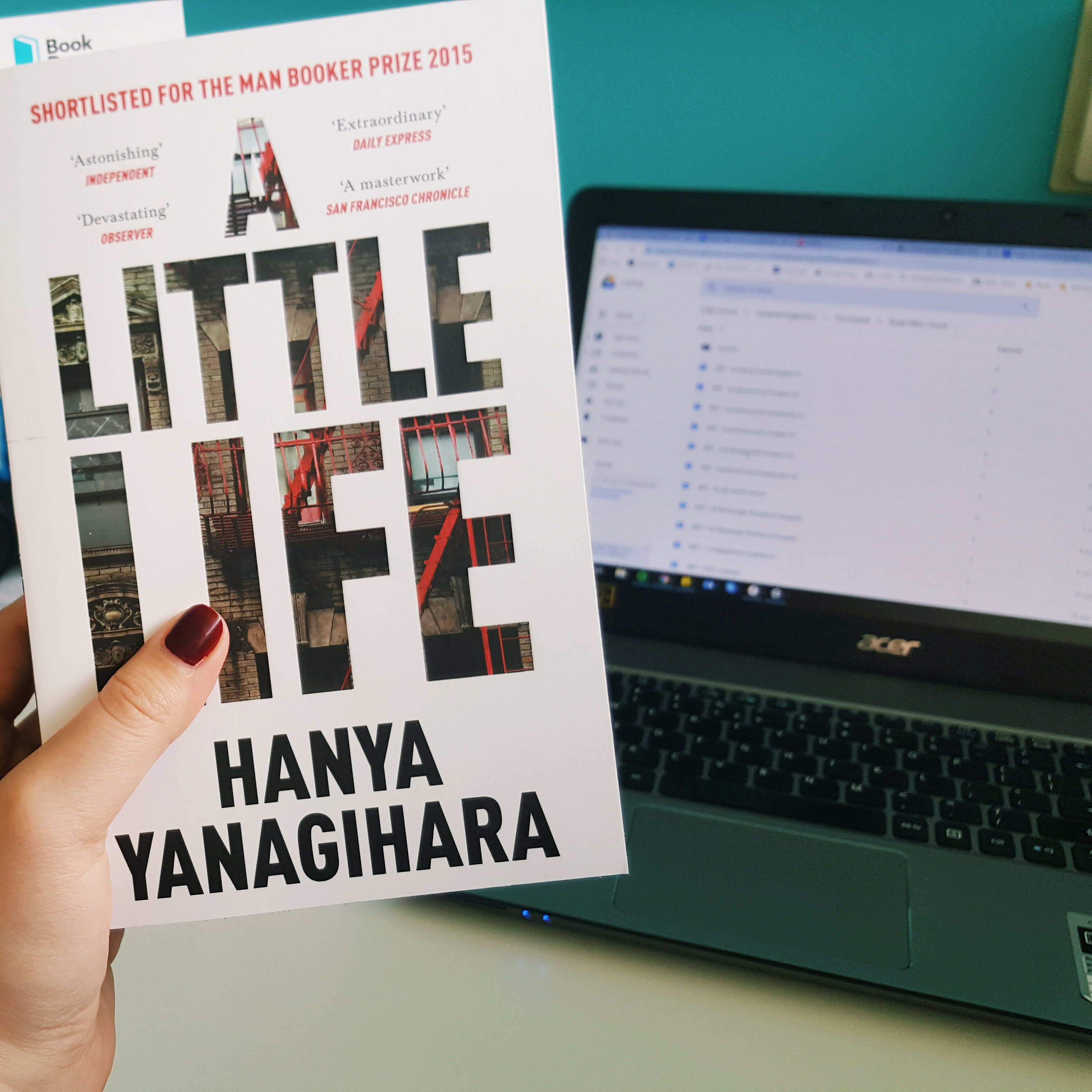 Read my review of 'A Little Life' by Hanya Yanagihara on theveryhungrybookworm.com!