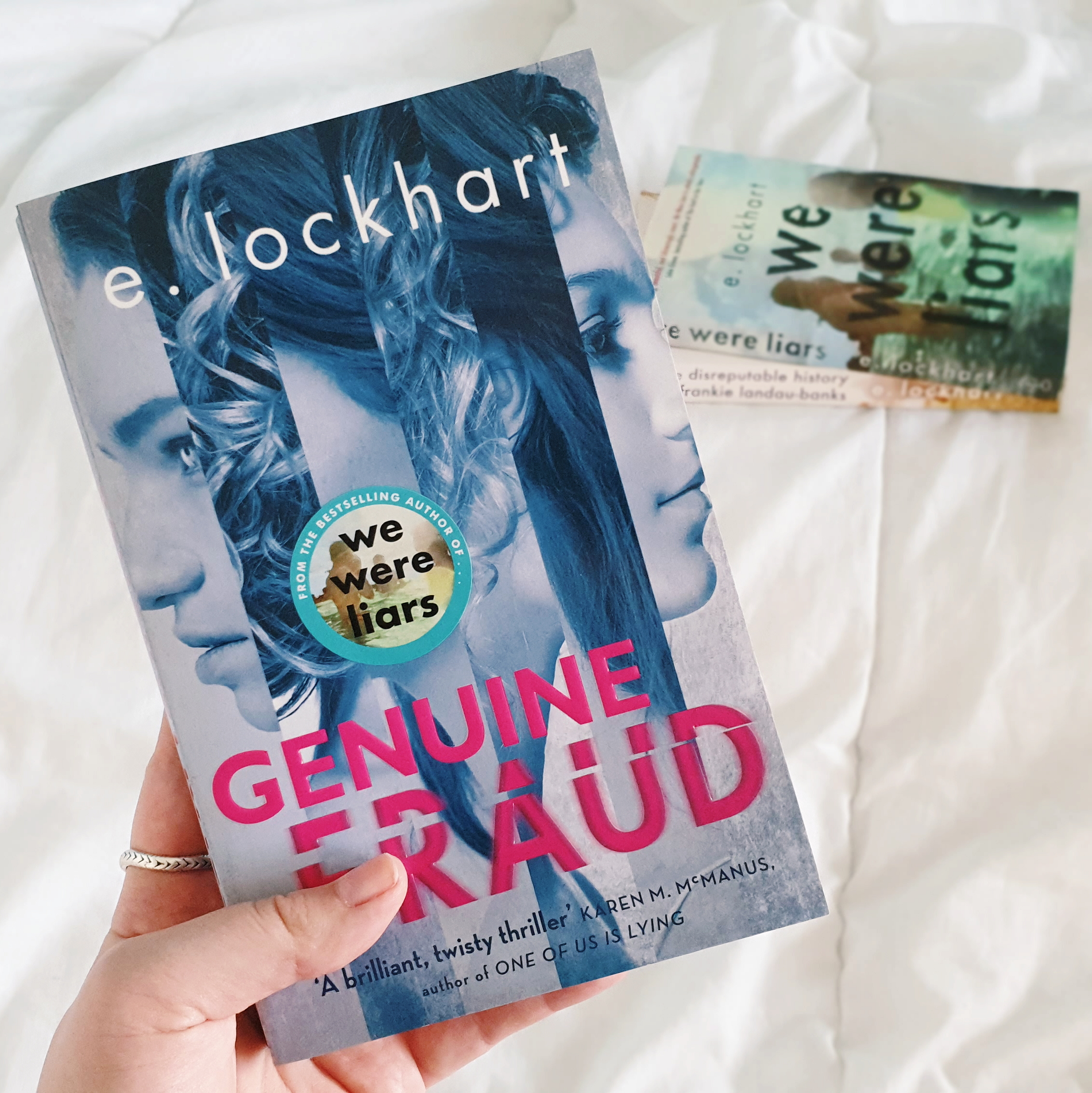 Read my review of 'Genuine Fraud' by E. Lockhart on theveryhungrybookworm.com!