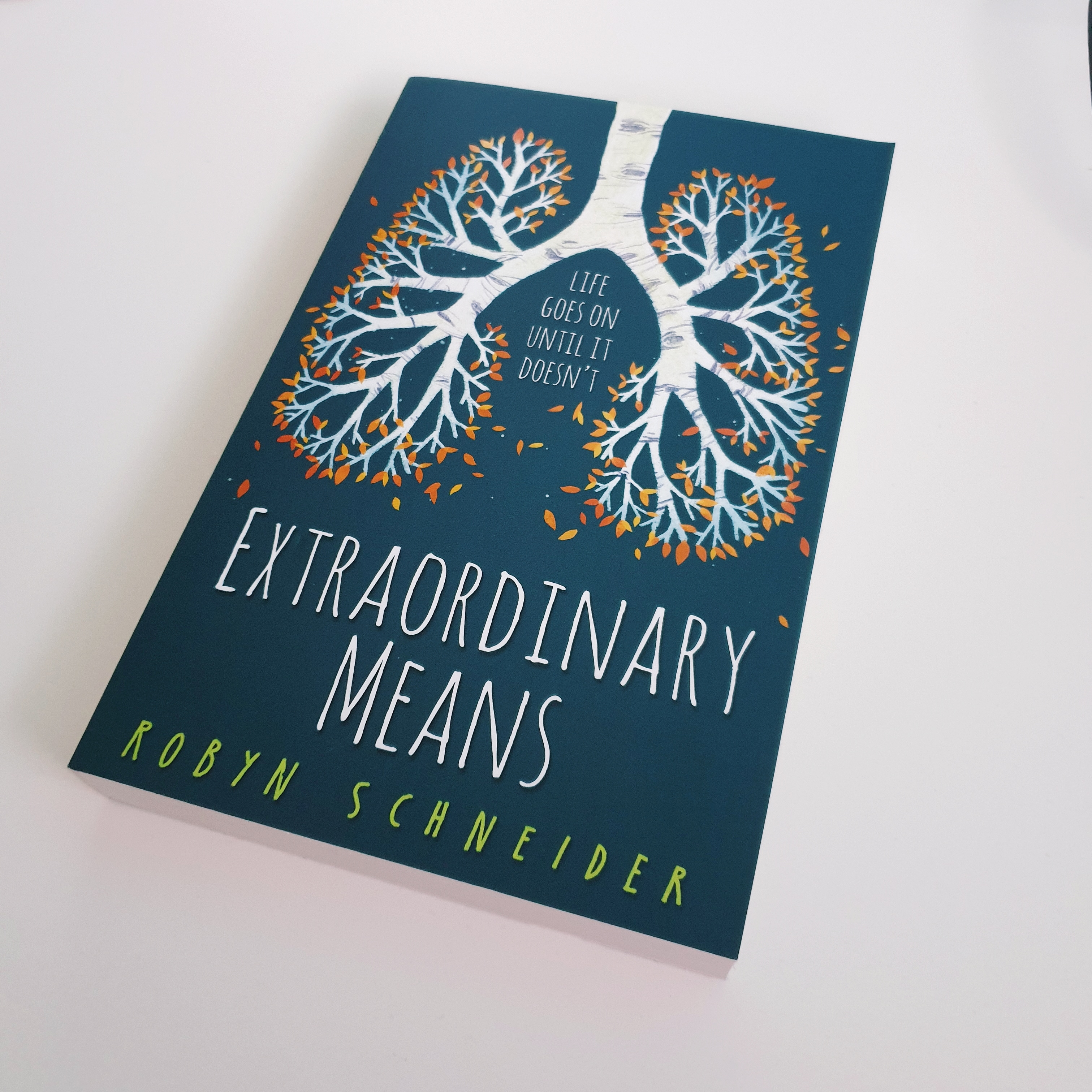 Read my review of 'Extraordinary Means' by Robyn Schneider on theveryhungrybookworm.com!